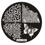 Nail Art Template, Ikevan Christmas DIY Hot Pattern Nail Art Image Stamp Stamping Plates Manicure Template Nail Art Plate