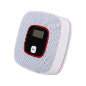 Pro-Tech Battery-Powered CO Detector Carbon Monoxide Detector LCD Alarm Alert Poisoning Monitor