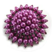 Pin creator 'Scarlett' pink purple.