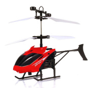XXYsm Mini RC Infraed Induction Helicopter Aircraft Flashing Light Toys For Kids