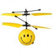 RC Toy, Mini Flying RC Ball, Children Flying Toys, Emoji RC infrared Induction Helicopter Ball for Kids Teenagers