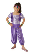 Rubie's Official Shimmer and Shine - Shimmer Childs Costume Small Size 3-4 Years