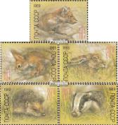 Soviet-Union 5935-5939 (complete.issue.) unmounted mint / never hinged 1989 Soviet. Animals