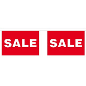 Sale Giant Bunting (30 Large Flags) 22.75M Shop Retail Sign Flag