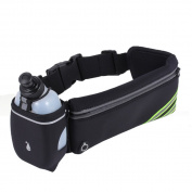 Autohigh Outdoor Sports Running Belt Bag Holder Mobile marathon Walking Running Waist With 1 Water Bottle