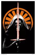 Trends International Star Wars The Force Awakens Kylo Ren Black Light Poster 60cm x 90cm