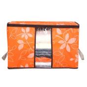 Sinfu Storage Box Organisation Designer Flower Printed Quilt Storage Bags