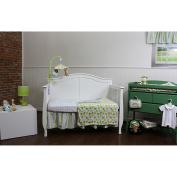 Nurture Imagination Basix Blue Striped Birdie 3-piece Bedding Set