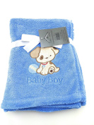 Noble House Embroidered Baby Blanket