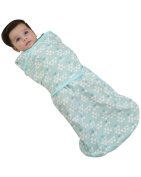 Luyusbaby Baby Sleeping Bag Swaddle Wearable Blanket Green