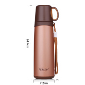 Travel mugs,commuter cup, stainless steel vacuum flask-24.9*7.2cm-A