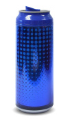 Cool Gear 473ml Boys Pixels Blue Drinks Can Blue