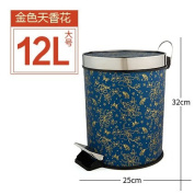 trash can Xiuxiutian Home foot with cover trash can ,R,12L