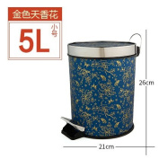 trash can Xiuxiutian Home foot with cover trash can ,F,5L