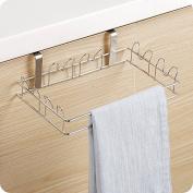 GFEI Stainless steel garbage bag holder / garbage rack, Handbag Hanger / kitchen plastic bag, garbage rack