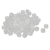 Rubber Ring Sealing Grommet Electrical Wiring Gasket Clear 6mm Inner Dia 50pcs