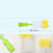 6 In 1 Bottle Cleaning kit Nipple Brush Set for Bottle Nipple Brushing