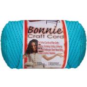 Bonnie Macrame Neon Craft Cord, 4mm x 100yd, Begonia