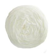Celine lin One Skein Super Soft Baby Blanket Big Warm Scarf Yarn Crochet Yarn,White