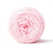 Celine lin One Skein Super Soft Baby Blanket Big Warm Scarf Yarn Crochet Yarn,Light pink