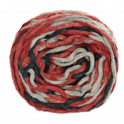 Celine lin One Skein Natural Baby Blanket Big Warm Ball Yarn Knitting Yarn,Multi-colored10