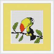 Luca-S Counted Cross Stitch Kit Toucan
