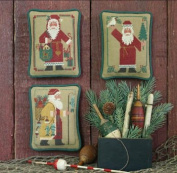 Santas Revisited IV (1986, 1988, 1992) Cross Stitch Chart and Free Embellishment
