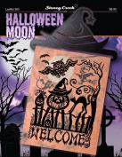Halloween Moon (Leaflet 363) Cross Stitch Chart and Free Embellishment