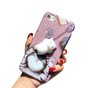 For iPhone 7 Case ,Ikevan Squishy 3D Cute Cat's Paw Phone Case Cover for iPhone 7 12cm