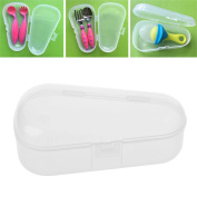 GaoCold Baby Toothbrush Scissors Teether Soother Pacifier Travel Storage Case Box Holder