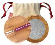 Zao Organic Makeup Pearly Eye Shadow Silver 114 5ml