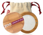 ZAO Pearly - Shimmering Eye Shadow - Organic, ECOCERT-Certified and Cosmébio-Certified Natural Cosmetic in Refillable Bamboo Box - 101