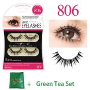 D.U.P False Eyelashes - Rich 806