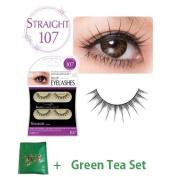 D.U.P False Eyelashes - Straight 107