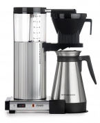 Moccamaster CDGT 10-Cup Coffee Brewer with Thermal Carafe, Polished Silver by Technivorm Moccamaster