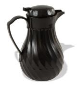 Crestware SC42B Swirl Coffee Carafe, 1240ml, Black