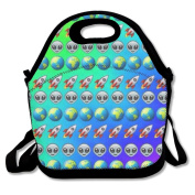Emoji Hot Fashion 2017 Newest Lunch Bag Box Travel Outdoor Picnic Lunchboxes Lunch Tote Lunch Pouch For Kids And Adults