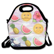 Eagle Pineapple Emoji Hot Fashion 2017 Newest Lunch Bag Box Travel Outdoor Picnic Lunchboxes Lunch Tote Lunch Pouch For Kids And Adults
