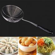 HUPLUE Handheld Mesh Strainer for Quinoa, Tea, Soup,Dumplings£¬Noodles,Sifting, Baking, & Straining, 38cm Length