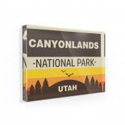 Fridge Magnet National Park Canyonlands - NEONBLOND