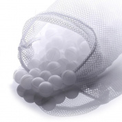 NutriChef PKSOUSBL250 Premium Sous Vide Balls, 250 White Balls, Includes Drying Bag for Precision Cookers & Immersion Circulators, Reduces Heat Loss
