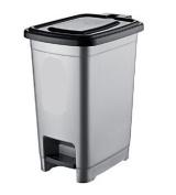 10 Litre Small Slim Plastic Pedal Bin Bedroom Bathroom Kitchen Rubbish Dustbin