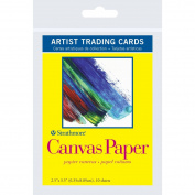Strathmore Artist Trading Cards 6.4cm x 8.9cm 10/Pkg-Canvas