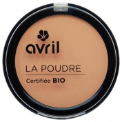 AVRIL - Compact Powder - Doré 67 - Does not Dry Skin - Certified Organic - Not Tested on Animals - 7 gr