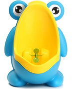 MD Group Kids Frog Removable Urinal Potty Blue Colour Early Education Training for Boy Children