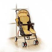 HaloVa Baby Stroller Seat Cushion, Summer Carts Mats, Infant Child Pram Cool Pad, Reusable Babies' Rattan Mat for Stroller Pram and Car Seat, Breathable, Dark Colour