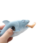 Boomable Shark and Foot Squeeze Toy Stress Ball Alternative Decompression Novelty Toys