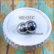 1″ THE BABY Bath Bomb Mould, Heavy Duty, Stainless Steel, Two Wild Hares