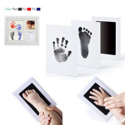 HS Newborn Baby Safe Handprint and Footprint Ink Pads Baby Shower Gift