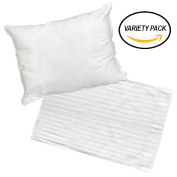 Angel Baby Toddler Pillow and a White Pillowcase Gift Set